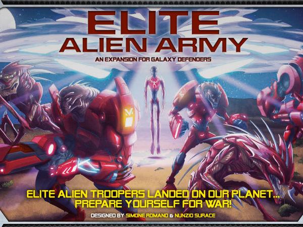 Bild zu Alle Brettspiele-Spiel Galaxy Defenders: Elite Alien Army
