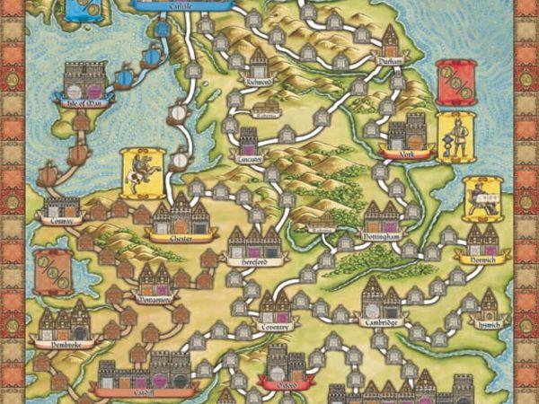Bild zu Alle Brettspiele-Spiel Hansa Teutonica: Britannia