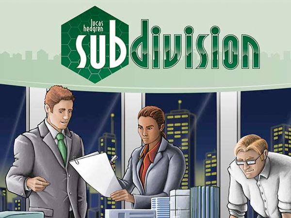 Bild zu Alle Brettspiele-Spiel Subdivision