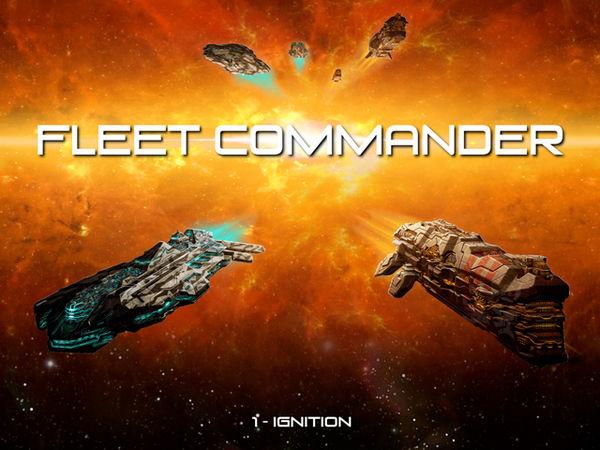 Bild zu Alle Brettspiele-Spiel Fleet Commander: Ignition