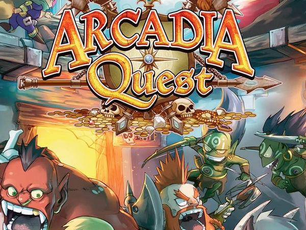 Bild zu Alle Brettspiele-Spiel Arcadia Quest