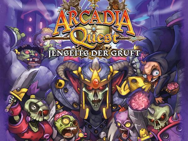 Bild zu Alle Brettspiele-Spiel Arcadia Quest: Jenseits der Gruft