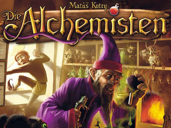 Bild zu Alle Brettspiele-Spiel Die Alchemisten
