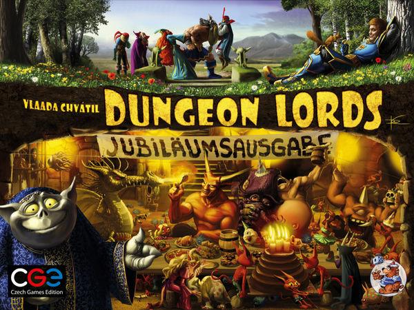 Bild zu Alle Brettspiele-Spiel Dungeon Lords: Jubiläumsausgabe