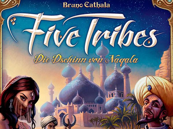 Bild zu Alle Brettspiele-Spiel Five Tribes
