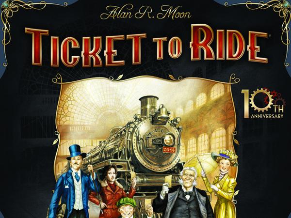 Bild zu Alle Brettspiele-Spiel Zug um Zug: Jubiläumsausgabe