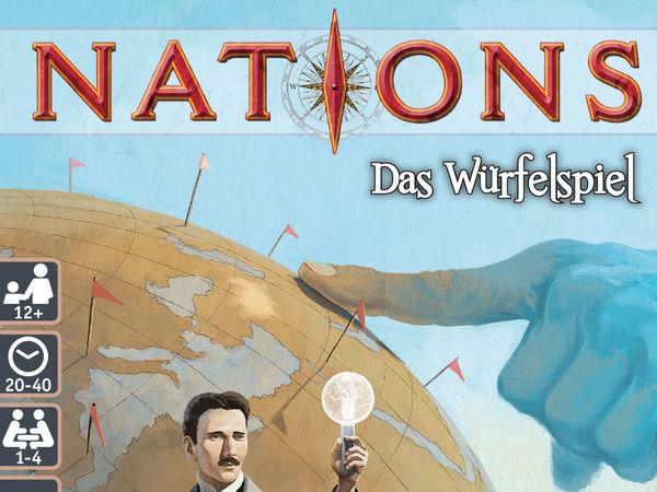 Bild zu Alle Brettspiele-Spiel Nations: Das Würfelspiel