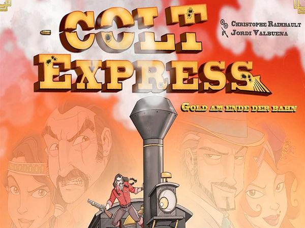 Bild zu Alle Brettspiele-Spiel Colt Express