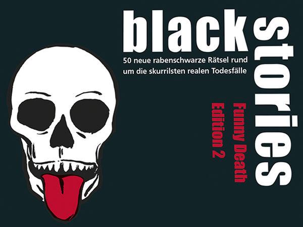 Bild zu Alle Brettspiele-Spiel Black Stories: Funny Death 2