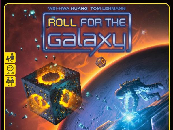 Bild zu Alle Brettspiele-Spiel Roll for the Galaxy