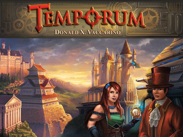 Bild zu Alle Brettspiele-Spiel Temporum