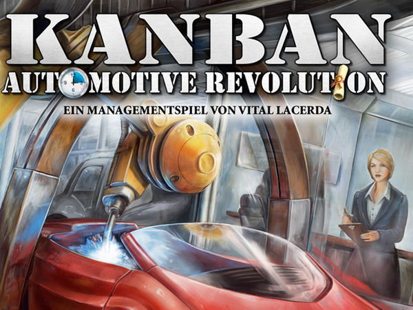 Bild zu Frühjahrs-Neuheiten-Spiel Kanban: Automotive Revolution