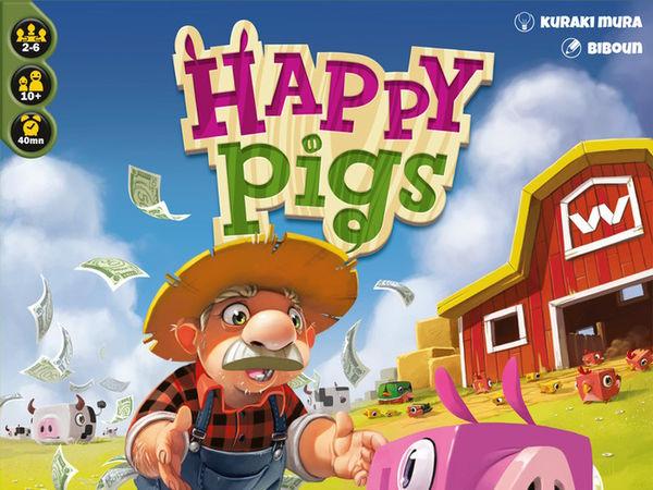 Bild zu Alle Brettspiele-Spiel Happy Pigs
