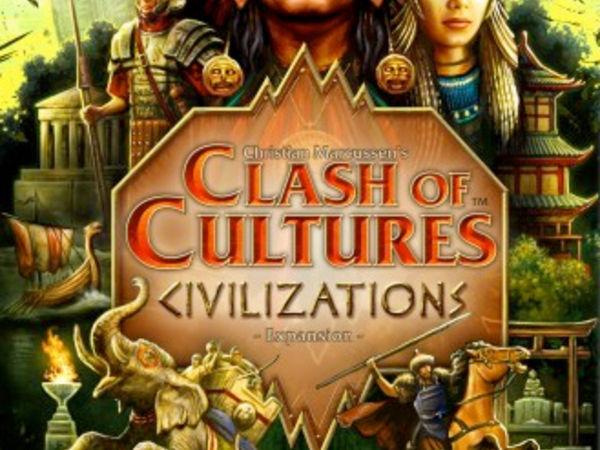 Bild zu Alle Brettspiele-Spiel Clash of Cultures: Civilizations