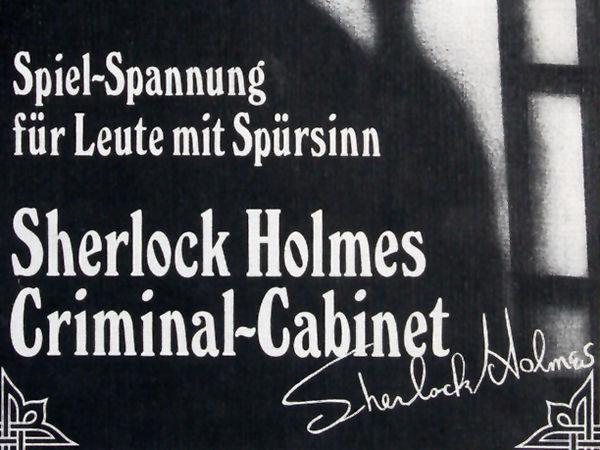 Bild zu Alle Brettspiele-Spiel Sherlock Holmes Criminal-Cabinet