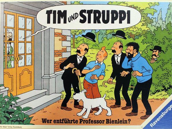 Bild zu Alle Brettspiele-Spiel Tim und Struppi