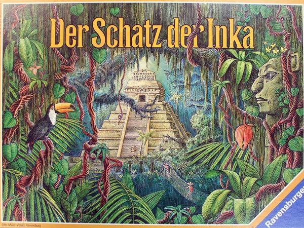 Bild zu Alle Brettspiele-Spiel Der Schatz der Inka