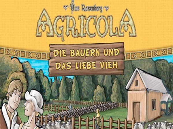 Bild zu Alle Brettspiele-Spiel Agricola: Die Bauern und das liebe Vieh