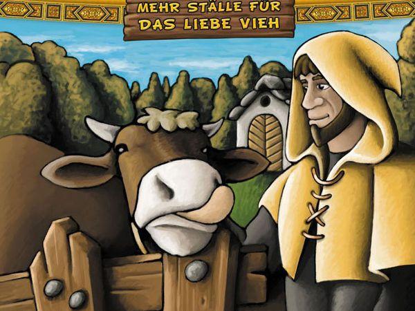 Bild zu Alle Brettspiele-Spiel Agricola: Noch mehr Ställe für das liebe Vieh