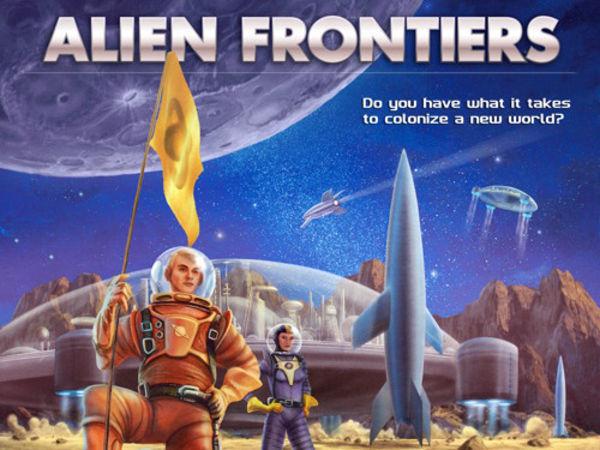 Bild zu Alle Brettspiele-Spiel Alien Frontiers