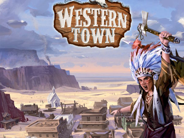 Bild zu Alle Brettspiele-Spiel Western Town