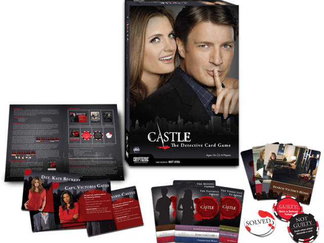 Castle: The Detective Card Game Bild 1