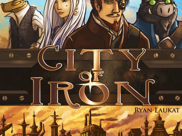 Bild zu Alle Brettspiele-Spiel City of Iron