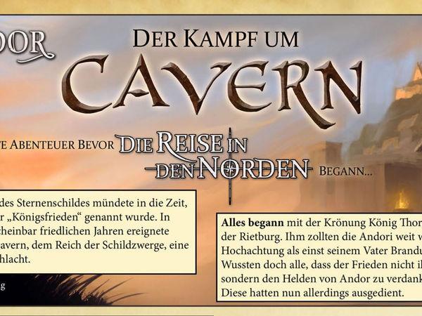 Bild zu Alle Brettspiele-Spiel Die Legenden von Andor: Der Kampf um Cavern