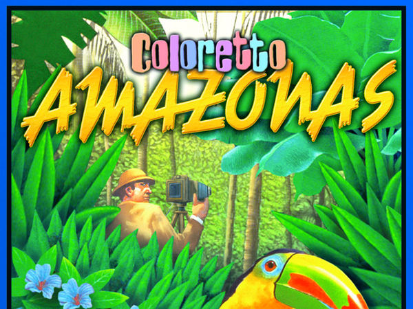 Bild zu Alle Brettspiele-Spiel Coloretto: Amazonas