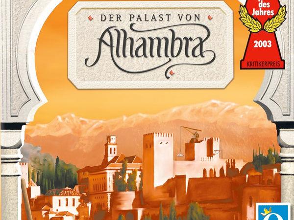 Bild zu Alle Brettspiele-Spiel Der Palast von Alhambra