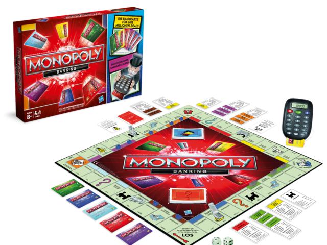 Monopoly Banking, Spiel, Anleitung und Bewertung auf