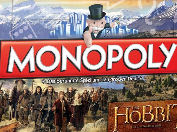 Bild zu Alle Brettspiele-Spiel Monopoly: Der Hobbit - Eine unerwartete Reise