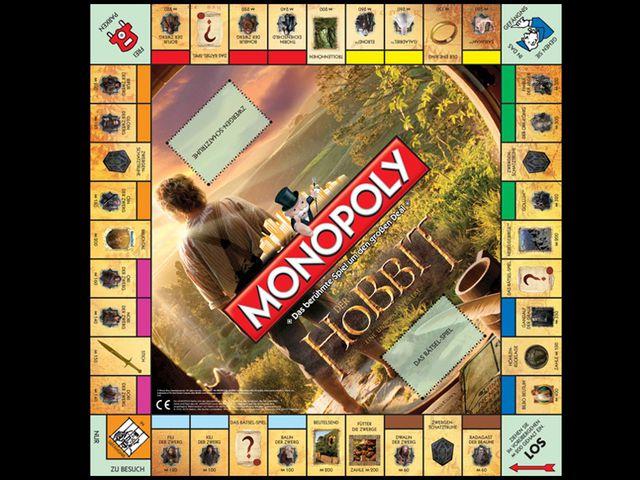 Monopoly: Der Hobbit - Eine unerwartete Reise Bild 1