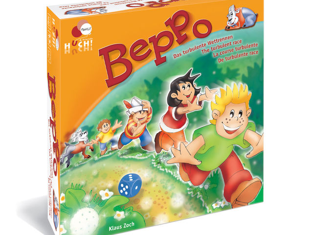 Beppo: Das turbulente Wettrennen Bild 1