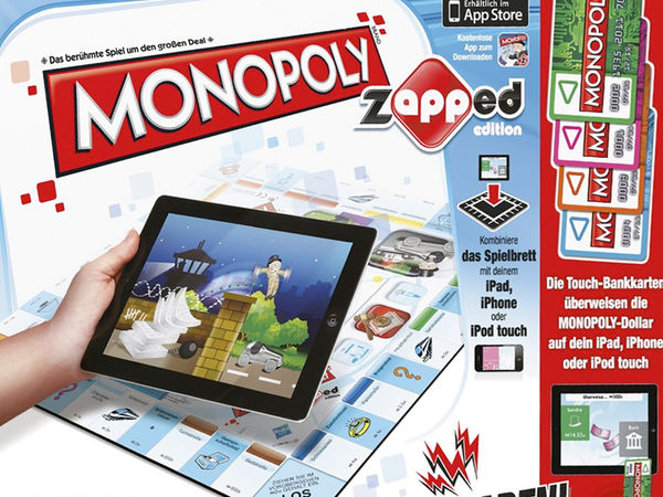 Bild zu Alle Brettspiele-Spiel Monopoly Zapped