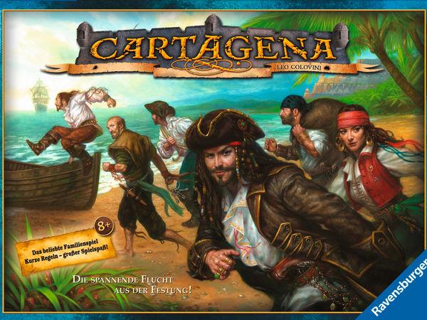 Bild zu Frühjahrs-Neuheiten-Spiel Cartagena 1: Flucht aus der Festung