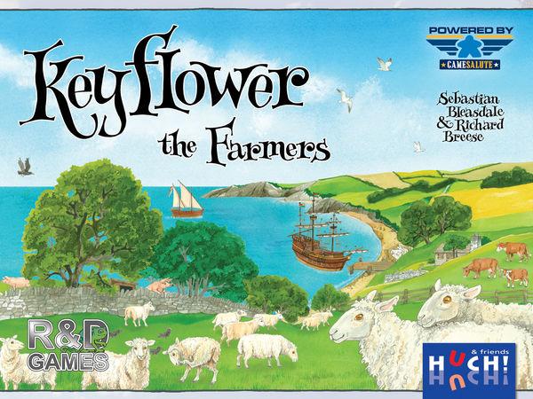 Bild zu Alle Brettspiele-Spiel Keyflower: The Farmers