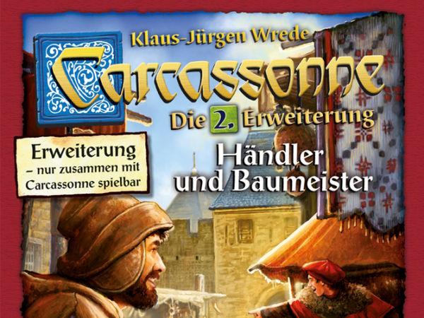 Bild zu Alle Brettspiele-Spiel Carcassonne: 2. Erweiterung - Händler & Baumeister