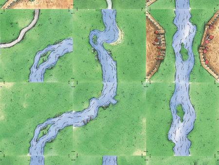 Carcassonne: Der Fluss