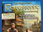 Vorschaubild zu Spiel Carcassonne: 1. Erweiterung - Wirtshäuser & Kathedralen