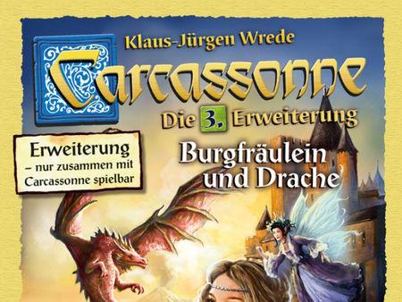 Carcassonne: 3. Erweiterung - Burgfräulein & Drache