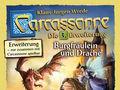 Alle Brettspiele-Spiel Carcassonne: 3. Erweiterung - Burgfräulein & Drache spielen
