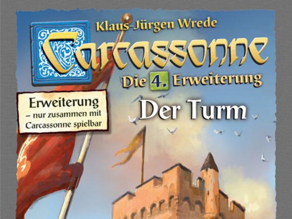 Bild zu Alle Brettspiele-Spiel Carcassonne: 4. Erweiterung - Der Turm