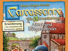 Carcassonne: 5. Erweiterung - Abtei und Bürgermeister