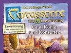 Vorschaubild zu Spiel Carcassonne: 6. Erweiterung - Graf, König und Konsorten