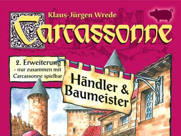 Bild zu Alle Brettspiele-Spiel Carcassonne: 8. Erweiterung - Brücken, Burgen und Basare