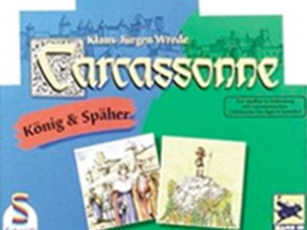 Bild zu Alle Brettspiele-Spiel Carcassonne: König & Späher