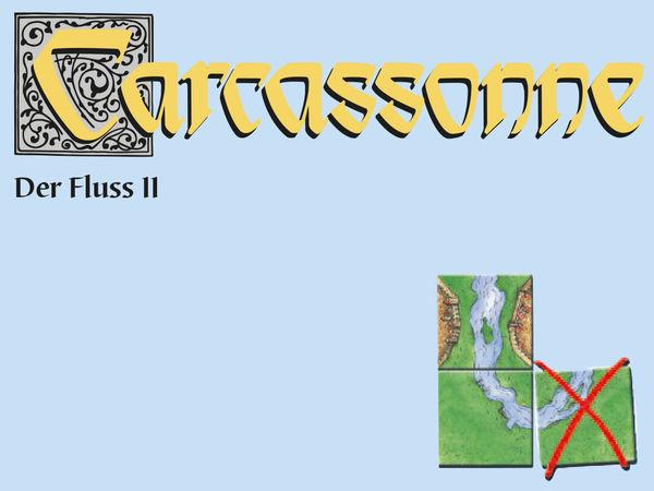 Bild zu Alle Brettspiele-Spiel Carcassonne: Der Fluss II