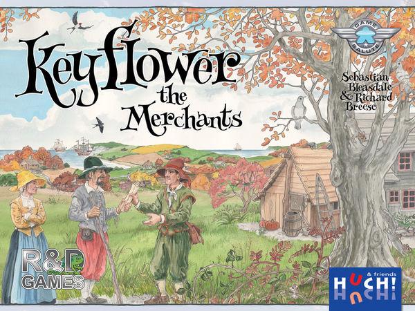 Bild zu Alle Brettspiele-Spiel Keyflower: The Merchants
