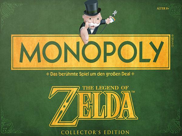 Bild zu Alle Brettspiele-Spiel Monopoly: The Legend of Zelda